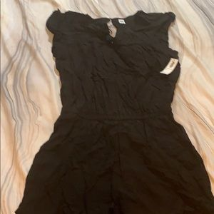 Old Navy Black Romper with Pockets